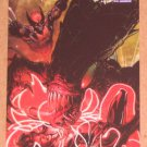 Marvel Heroes and Villains (Rittenhouse 2010) Parallel Card #28- Wolverine & Armor vs. Brood EX