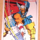 70 Years of Marvel Comics (Rittenhouse 2010) Metalic Ink Parallel Card #46- 1983 EX