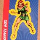70 Years of Marvel Comics (Rittenhouse 2010) Sticker Card S15- Marvel Girl EX-MT