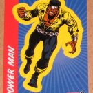 70 Years of Marvel Comics (Rittenhouse 2010) Sticker Card S12- Power Man EX