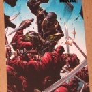Marvel Heroes and Villains (Rittenhouse 2010) Parallel Card #59- Ronin vs. The Hand EX