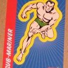 70 Years of Marvel Comics (Rittenhouse 2010) Sticker Card S6- Sub-Mariner EX-MT