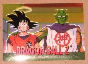 Dragon Ball Z Chromium Archive Edition (Artbox 2000) Parallel Sticker Card #28 NM