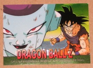 Dragon Ball Z Chromium Archive Edition (Artbox 2000) Parallel Sticker Card #50 NM