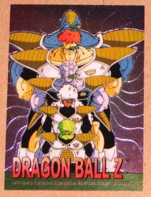 Dragon Ball Z Chromium Archive Edition (Artbox 2000) Parallel Sticker Card #51 NM
