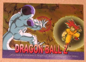 Dragon Ball Z Chromium Archive Edition (Artbox 2000) Parallel Sticker Card #56 NM