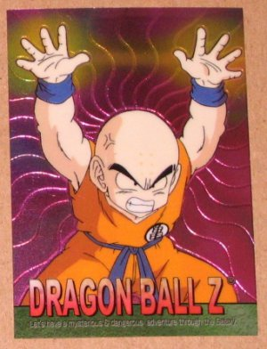 Dragon Ball Z Chromium Archive Edition (Artbox 2000) Parallel Sticker Card #66 NM