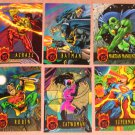 DC Outburst FirePower (Fleer/SkyBox 1996) - Single Cards