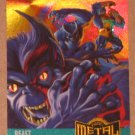 Marvel Metal (Fleer 1995) Card #126- Beast EX