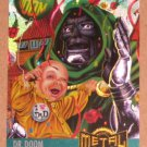 Marvel Metal (Fleer 1995) Card #128- Dr. Doom EX-MT