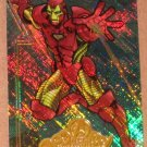 Marvel Masterpieces Set 2 (Upper Deck 2008) Avengers Chase Card A 5 - Iron Man EX
