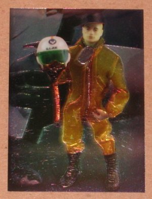 G.I.Joe 30th Salute (Comic Images 1994) Chromium Card C6 - 1964 Pilot EX