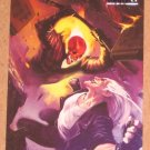 Marvel Heroes and Villains (Rittenhouse 2010) Parallel Card #32- Ghost Rider vs. Blackout EX-MT