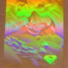 Superman Holo Series (Fleer/SkyBox 1996) Gold Card #38- Fists of Doom VG