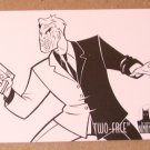 Batman and Robin, The Adventures of (SkyBox 1995) Coloring Card C5- Two-Face VG