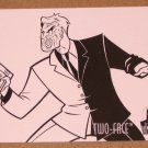 Batman and Robin, The Adventures of (SkyBox 1995) Coloring Card C5- Two-Face EX