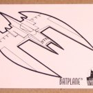 Batman and Robin, The Adventures of (SkyBox 1995) Coloring Card C8- Batplane EX