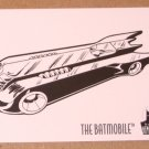 Batman and Robin, The Adventures of (SkyBox 1995) Coloring Card C9- The Batmobile EX
