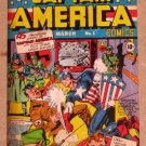 Captain America The First Avenger Movie (Upper Deck 2011) Comic Covers Card C-1 EX