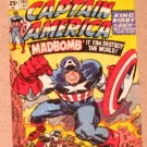 Captain America The First Avenger Movie (Upper Deck 2011) Comic Covers Card C-6 EX