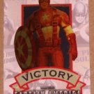 Captain America The First Avenger Movie (Upper Deck 2011) Poster Series Card P-1 EX