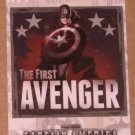 Captain America The First Avenger Movie (Upper Deck 2011) Poster Series Card P-2 EX