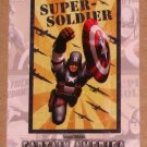 Captain America The First Avenger Movie (Upper Deck 2011) Poster Series Card P-3 EX
