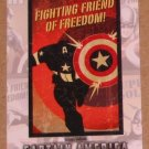 Captain America The First Avenger Movie (Upper Deck 2011) Poster Series Card P-5 EX