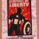 Captain America The First Avenger Movie (Upper Deck 2011) Poster Series Card P-8 EX