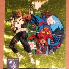 Amalgam (Fleer/SkyBox 1996) Power Blast Card #7- Adventures of Spider-Boy #129 EX-MT
