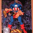 Amalgam (Fleer/SkyBox 1996) Power Blast Card #9- Secret Crisis of the Infinity Hour #7 EX-MT