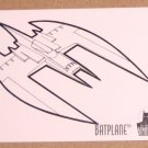 Batman and Robin, The Adventures of (SkyBox 1995) Coloring Card C8- Batplane EX-MT