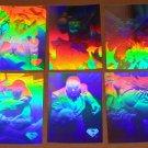 Superman Holo Series (Fleer/SkyBox 1996) - Single Silver Hologram Cards