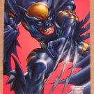 Amalgam (Fleer/SkyBox 1996) Preview Card #1- Dark Claw VG