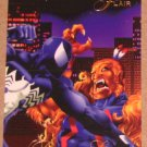 1994 Flair Marvel Universe (Fleer) Card #49- Puma vs Spidey VG