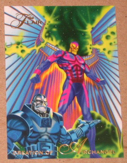 1994 Flair Marvel Universe (Fleer) Card #55- Creation of Archangel VG