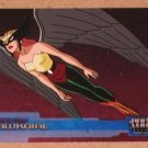 Justice League (Inkworks 2003) Friends and Foes Foil Card FF7- Hawkgirl EX