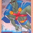 Justice League (Inkworks 2003) Friends and Foes Foil Card FF4- Martian Manhunter EX