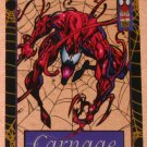 Spider-Man, the Amazing (Fleer 1994) Suspended Animation Card #5- Carnage EX-MT