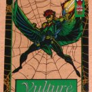 Spider-Man, the Amazing (Fleer 1994) Suspended Animation Card #8- Vulture EX-MT