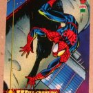 Spider-Man, the Amazing (Fleer 1994) Card #1- Wall-Crawling VG