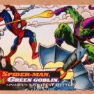 Spider-Man, the Amazing (Fleer 1994) Card #100- Spider-Man vs. Green Goblin EX