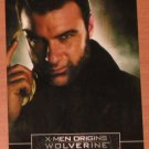X-Men Origins: Wolverine Movie Casting Call Card C3- Liev Schreiber as Sabretooth VG
