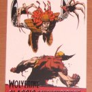 X-Men Origins: Wolverine Movie Classic Confrontations Card G1- Wolverine vs. Lady Deathstrike EX-MT