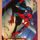 Spider-Man, the Amazing (Fleer 1994) Card #1- Wall-Crawling EX-MT