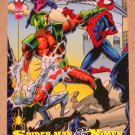 Spider-Man, the Amazing (Fleer 1994) Card #88- Spider-Man & X-Men EX-MT