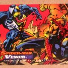 Spider-Man, the Amazing (Fleer 1994) Card #97- Spider-Man vs. Venom EX-MT