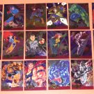 Marvel Metal (Fleer 1995) Metal Blaster Card Set EX-MT