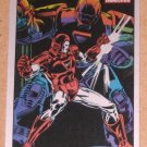 70 Years of Marvel Comics (Rittenhouse 2010) Metalic Ink Parallel Card #48- Iron Man 1985 EX