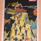 70 Years Marvel Comics (Rittenhouse 2010) Metalic Ink Parallel Card #12- Amazing Mysteries 1949 EX